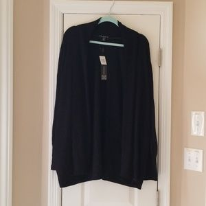 Cable & Guage Black Knit Sweater